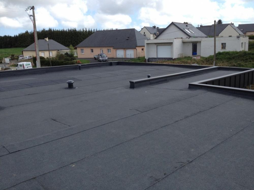 Etanchéité des terrasses et toits plats